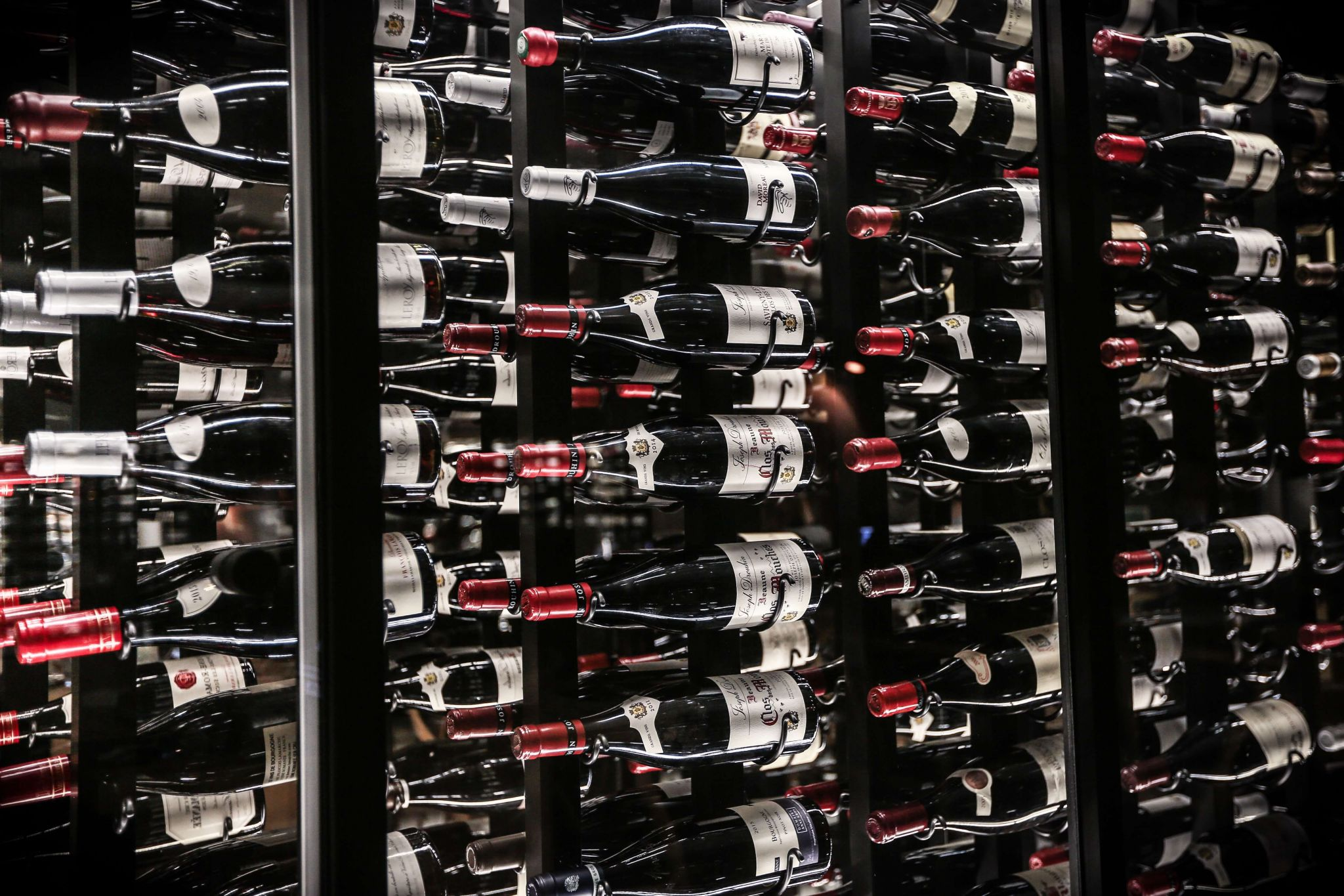 How to store collectibles - wine in wine racks