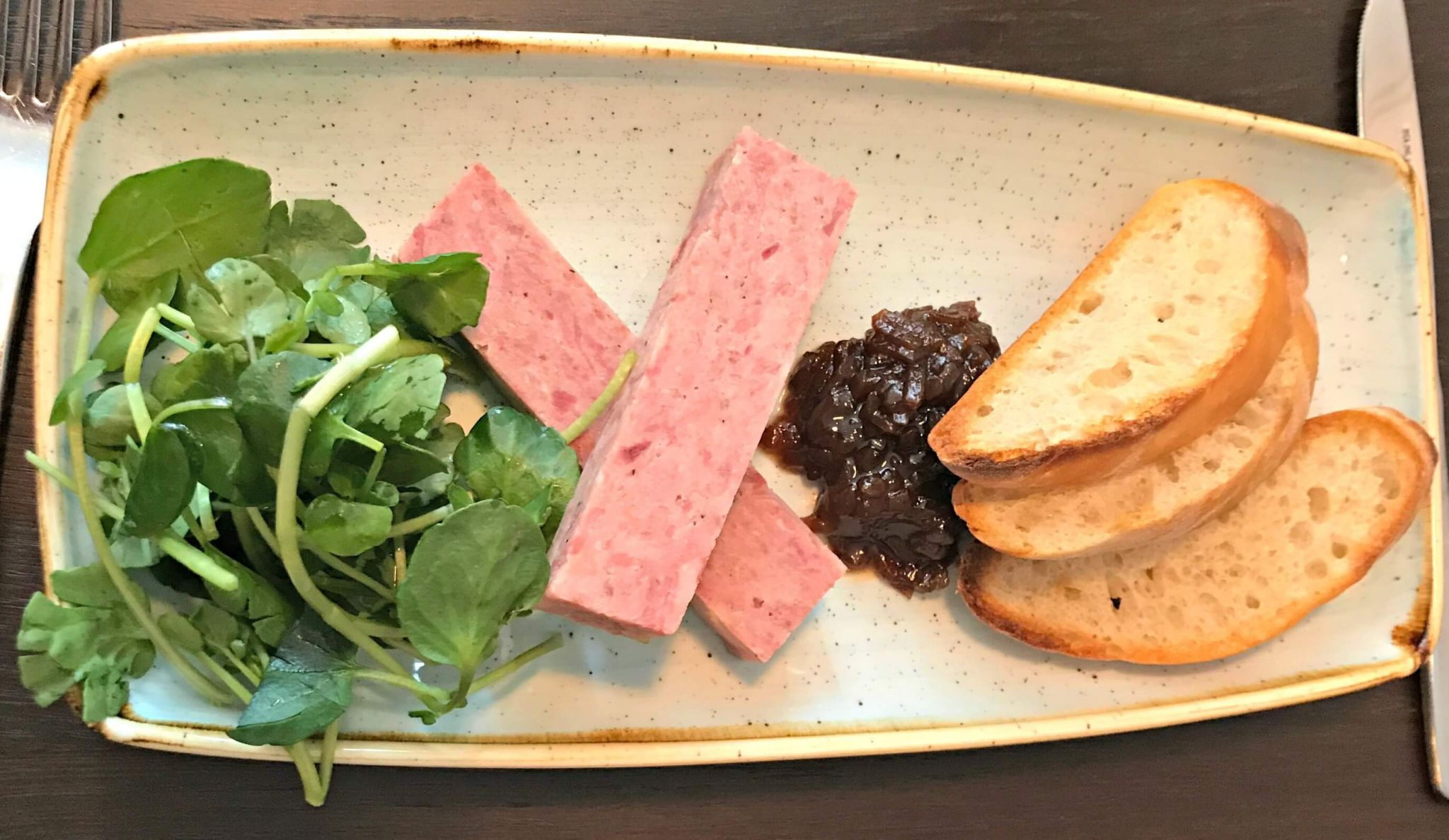 Oddsocks Bar & Kitchen Pressed Ham Hock Terrine
