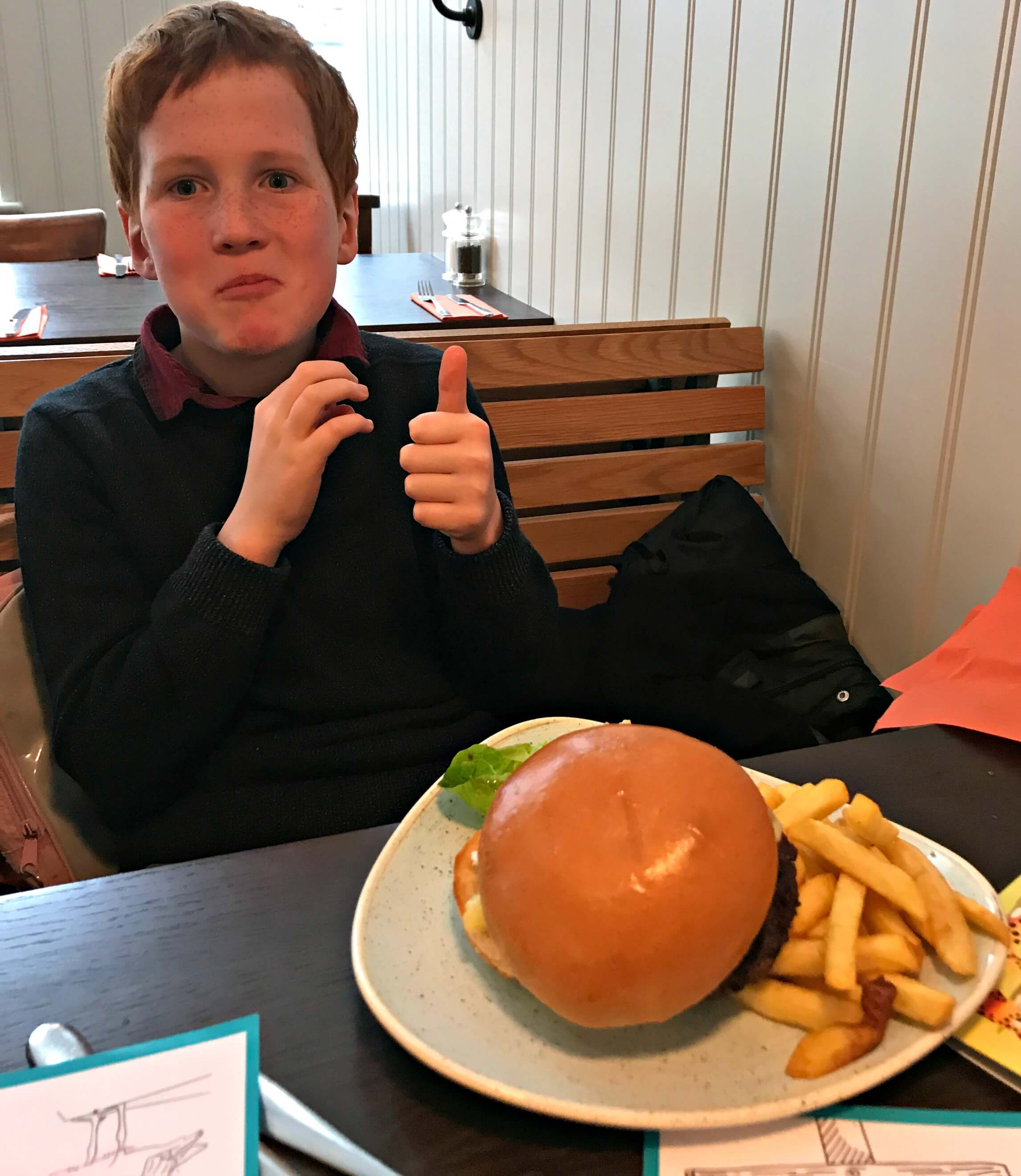 Oddsocks Bar & Kitchen Kids' Burger