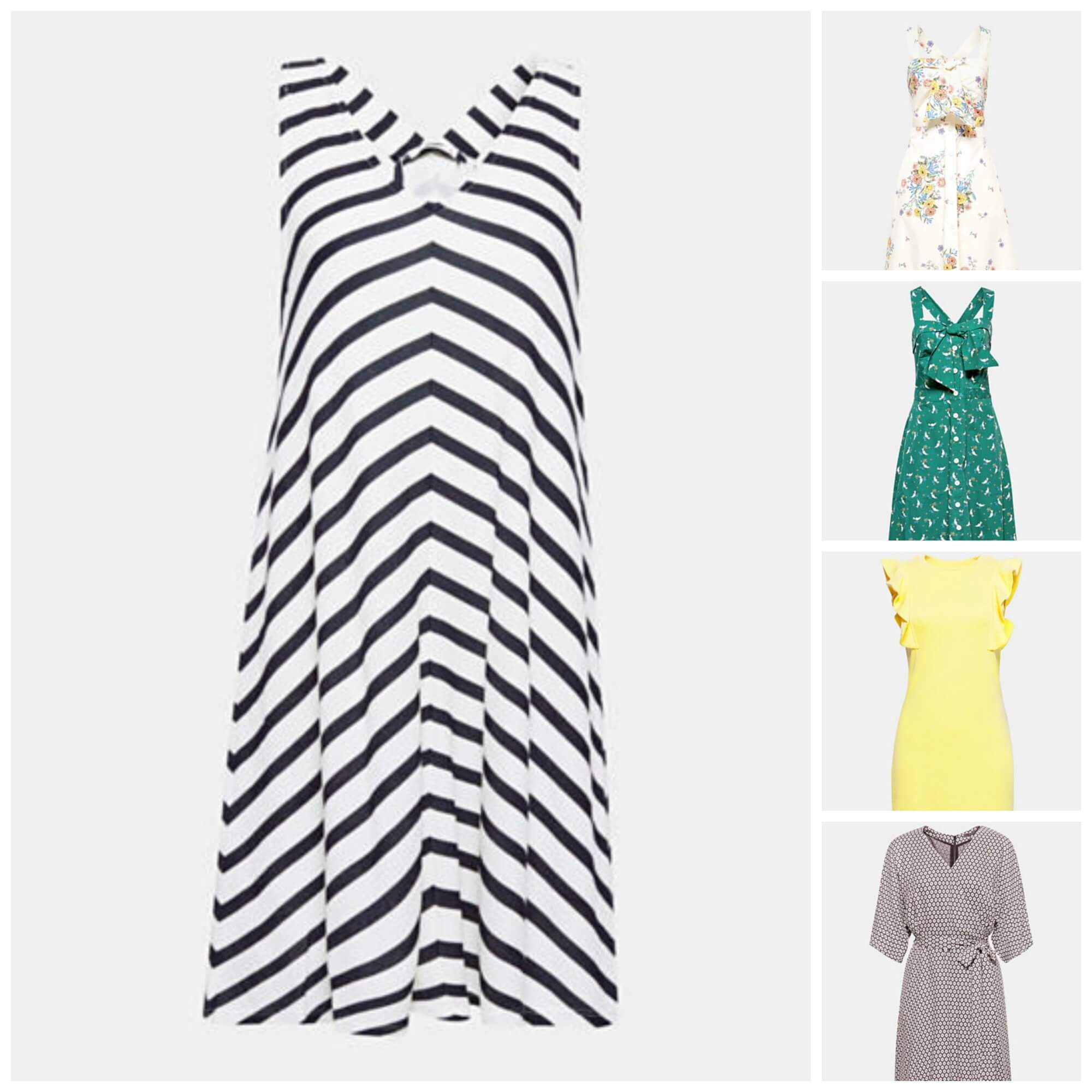 tips to stay cool in the heat - 5 summer dresses from Esprit