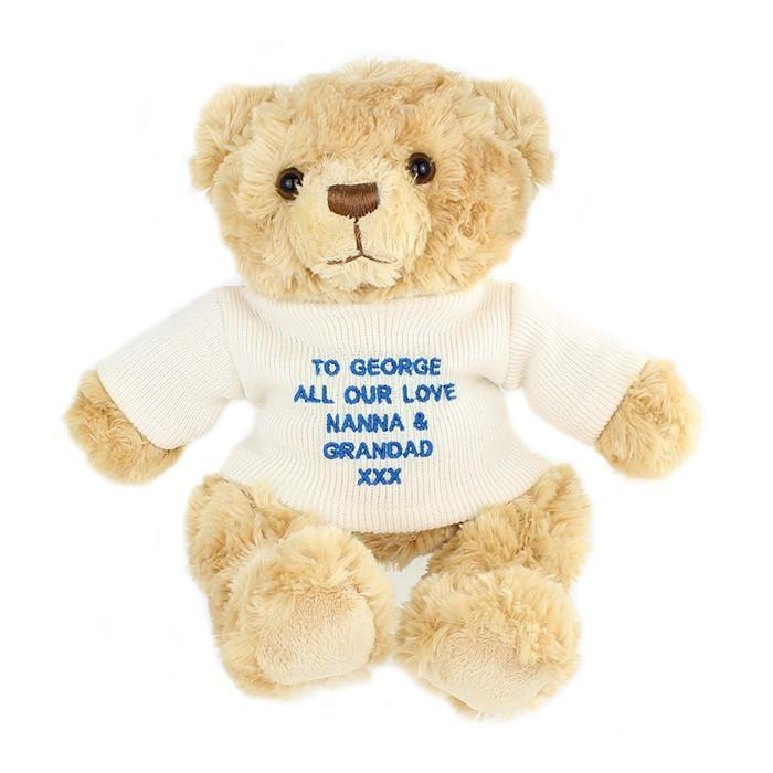 personalised teddy bear from Personally Presented