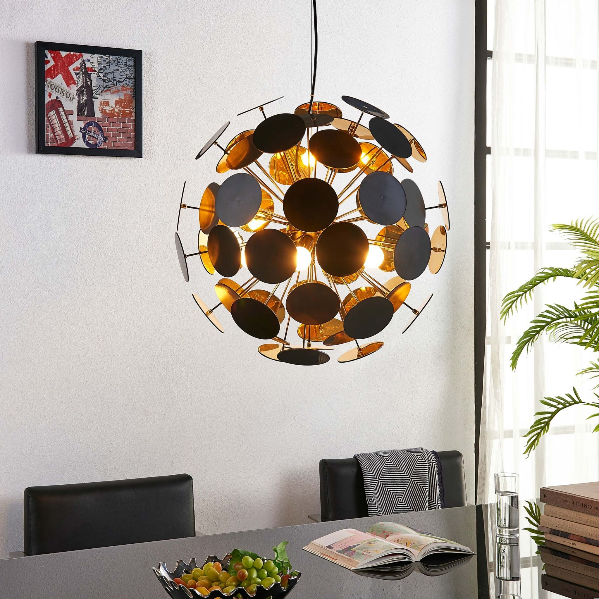 make your student accommodation feel like home - globe pendant light