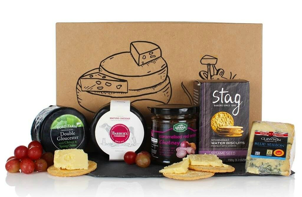 Virginia Hayward The Cheese Box hamper contents