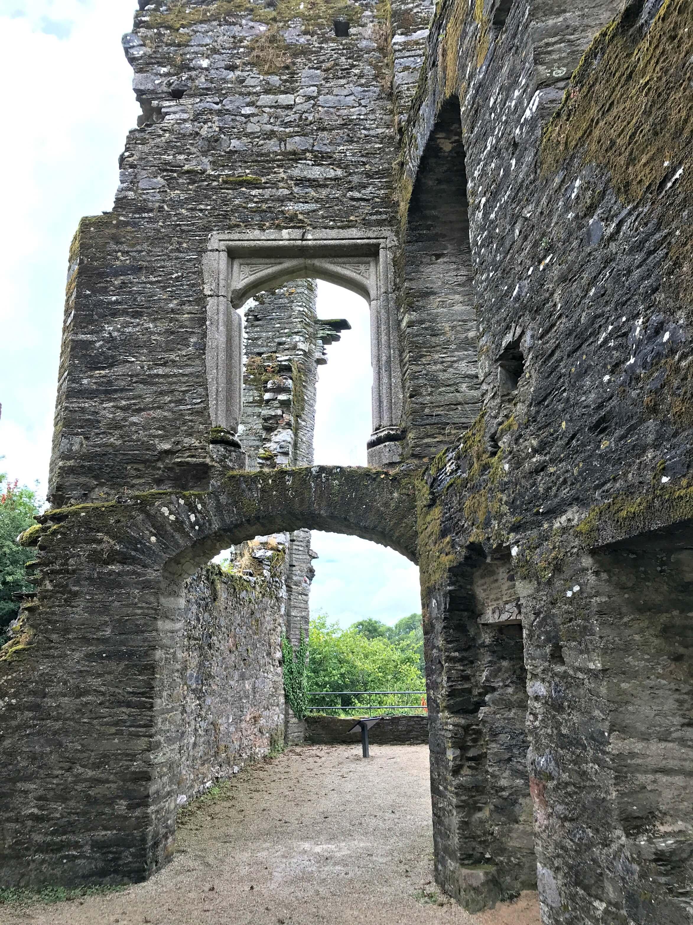 Berry Pomeroy Castle, Totnes Devon