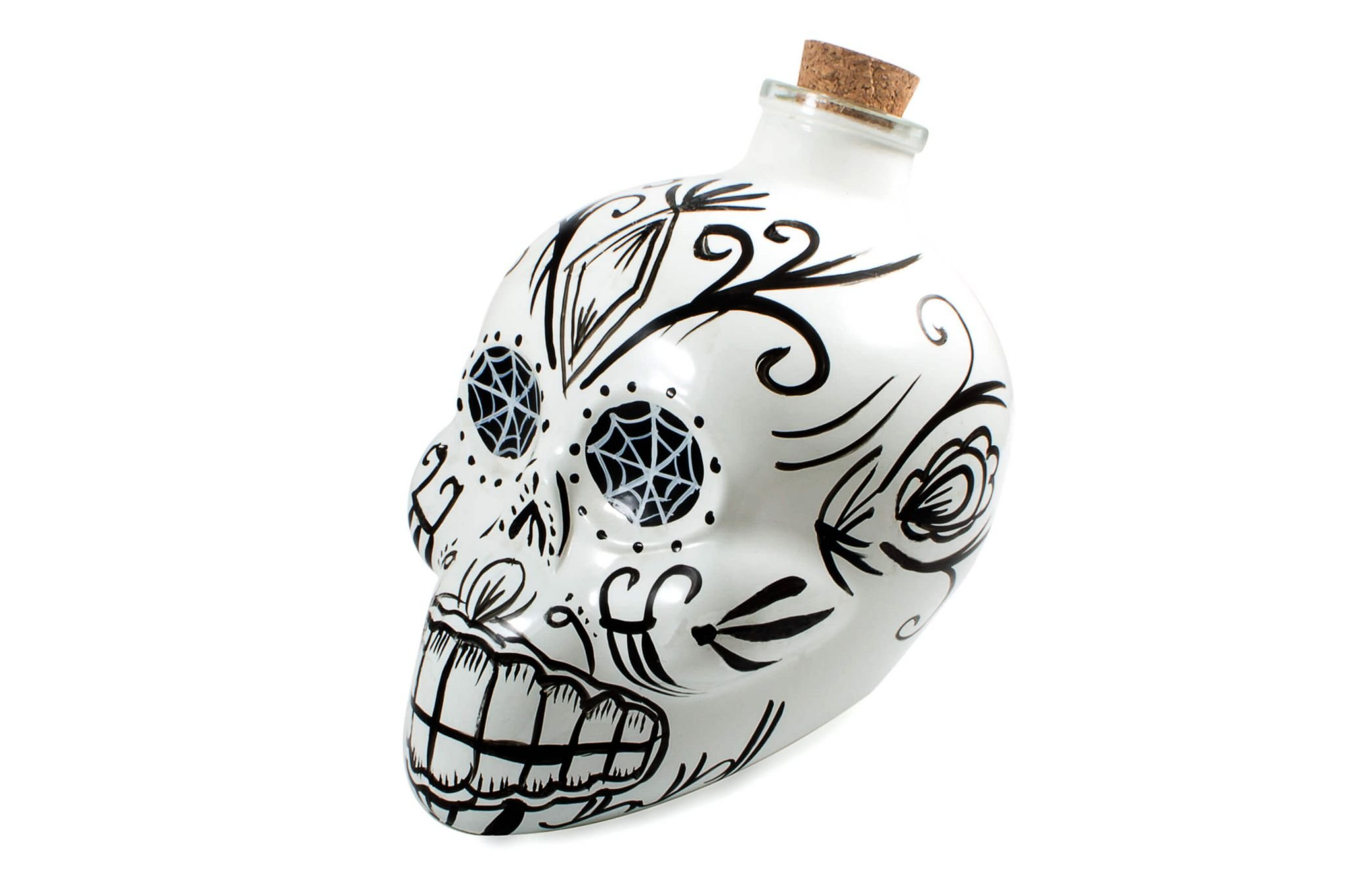 Day of the Dead Skull Decanter