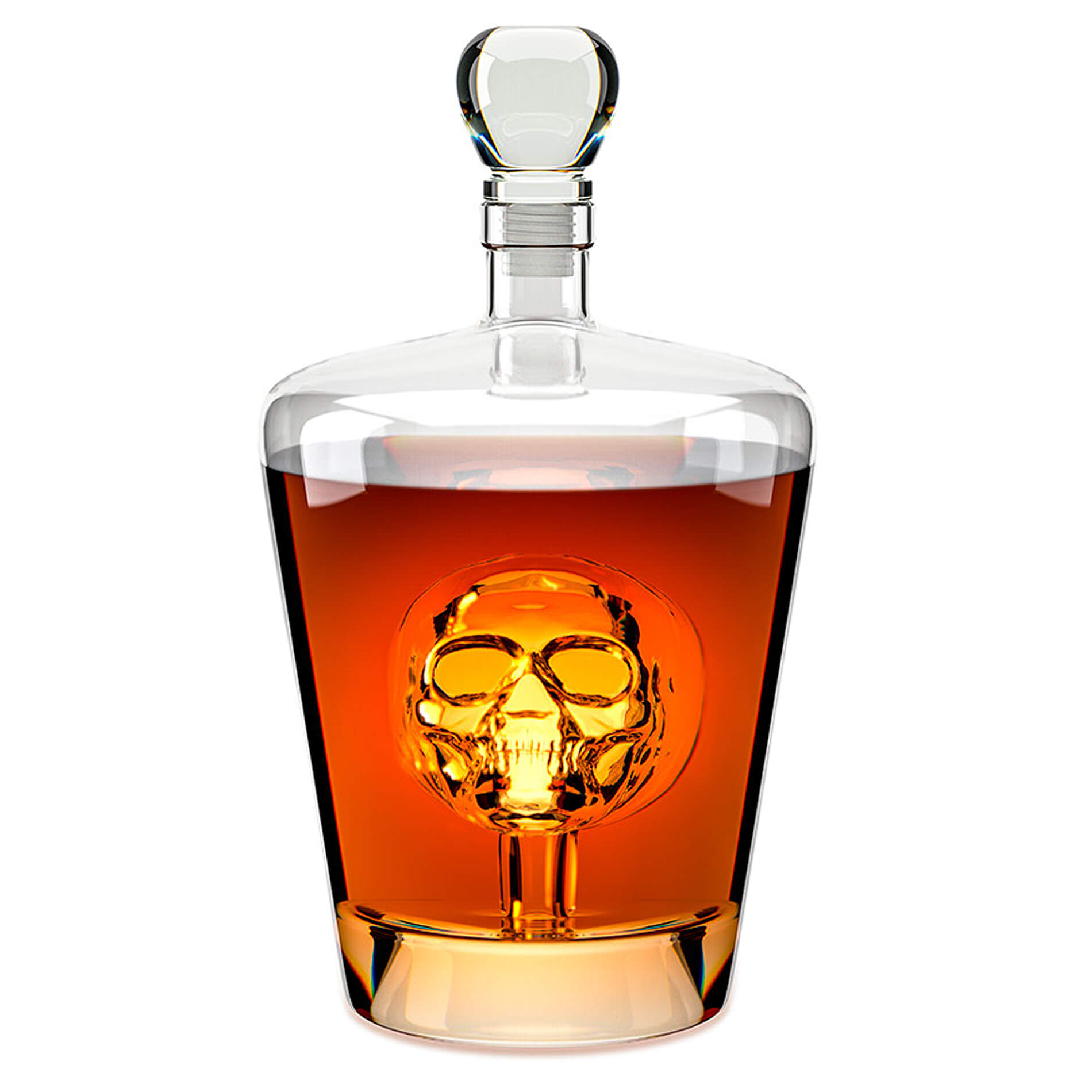 Red Candy Poison Whiskey Decanter