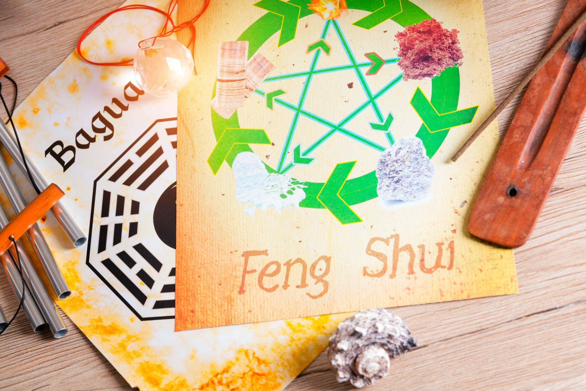 feng shui for health - tools including the Bagua