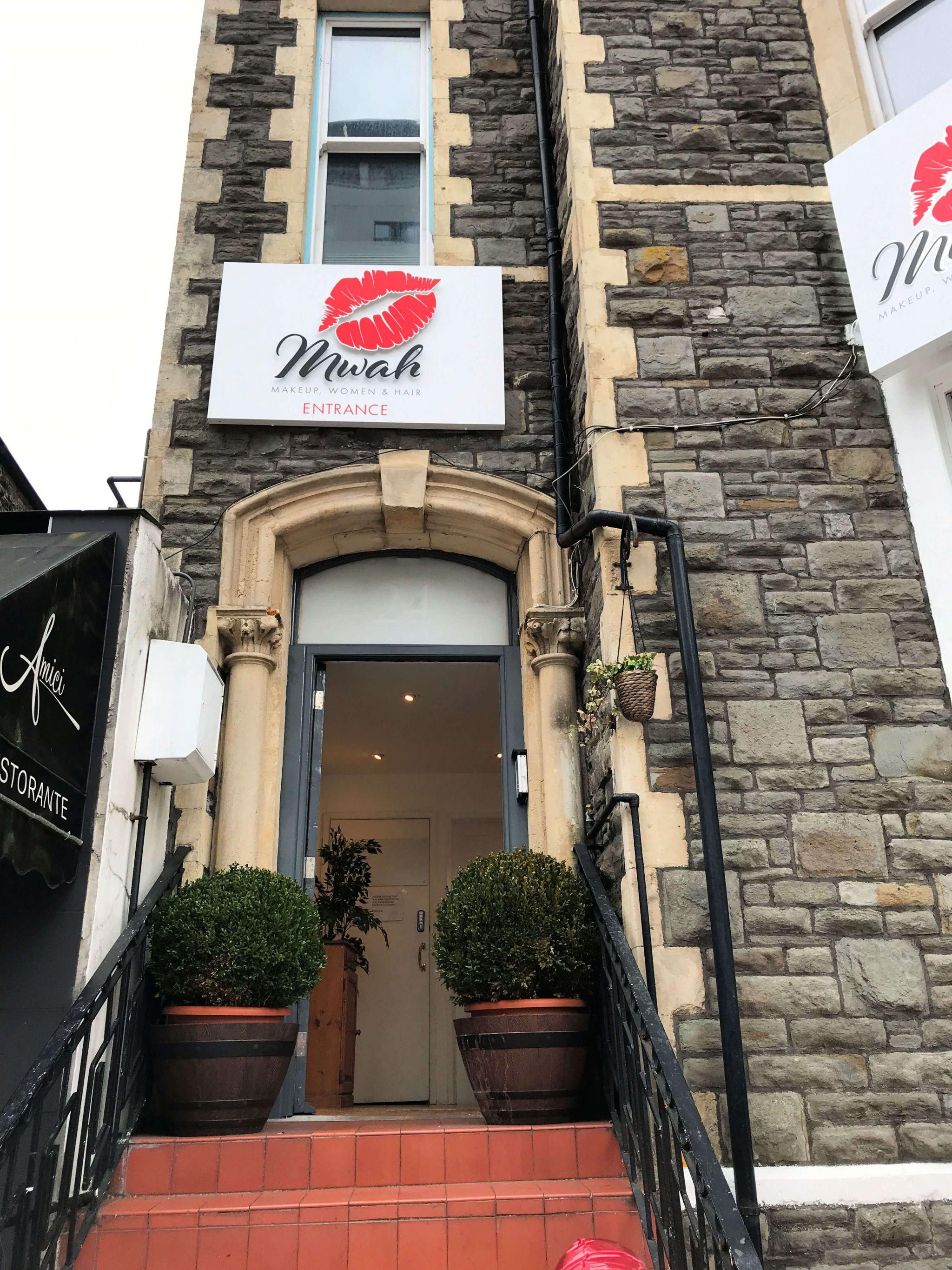 Mwah Cardiff entrance