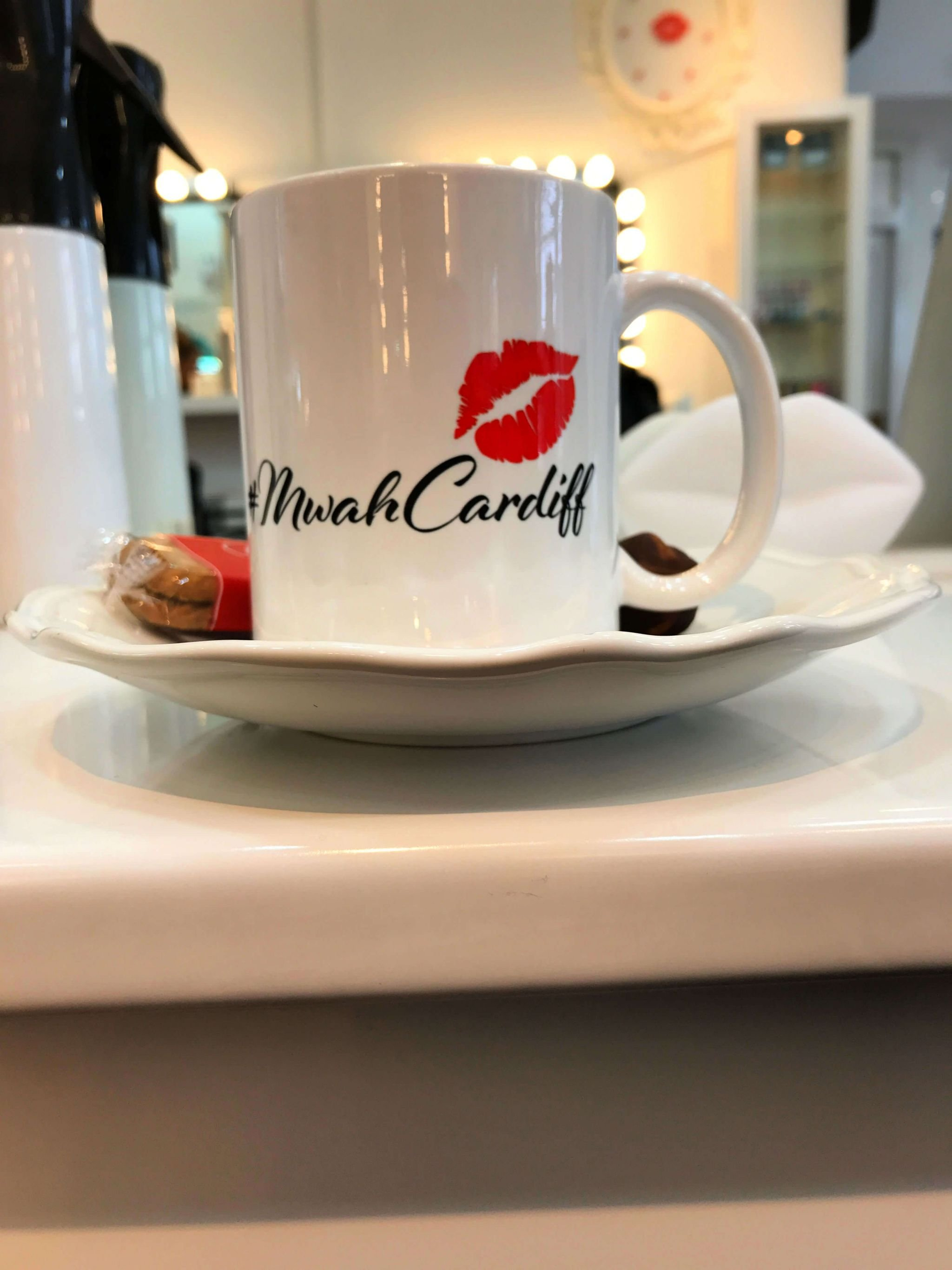 Mwah Cardiff coffee mug