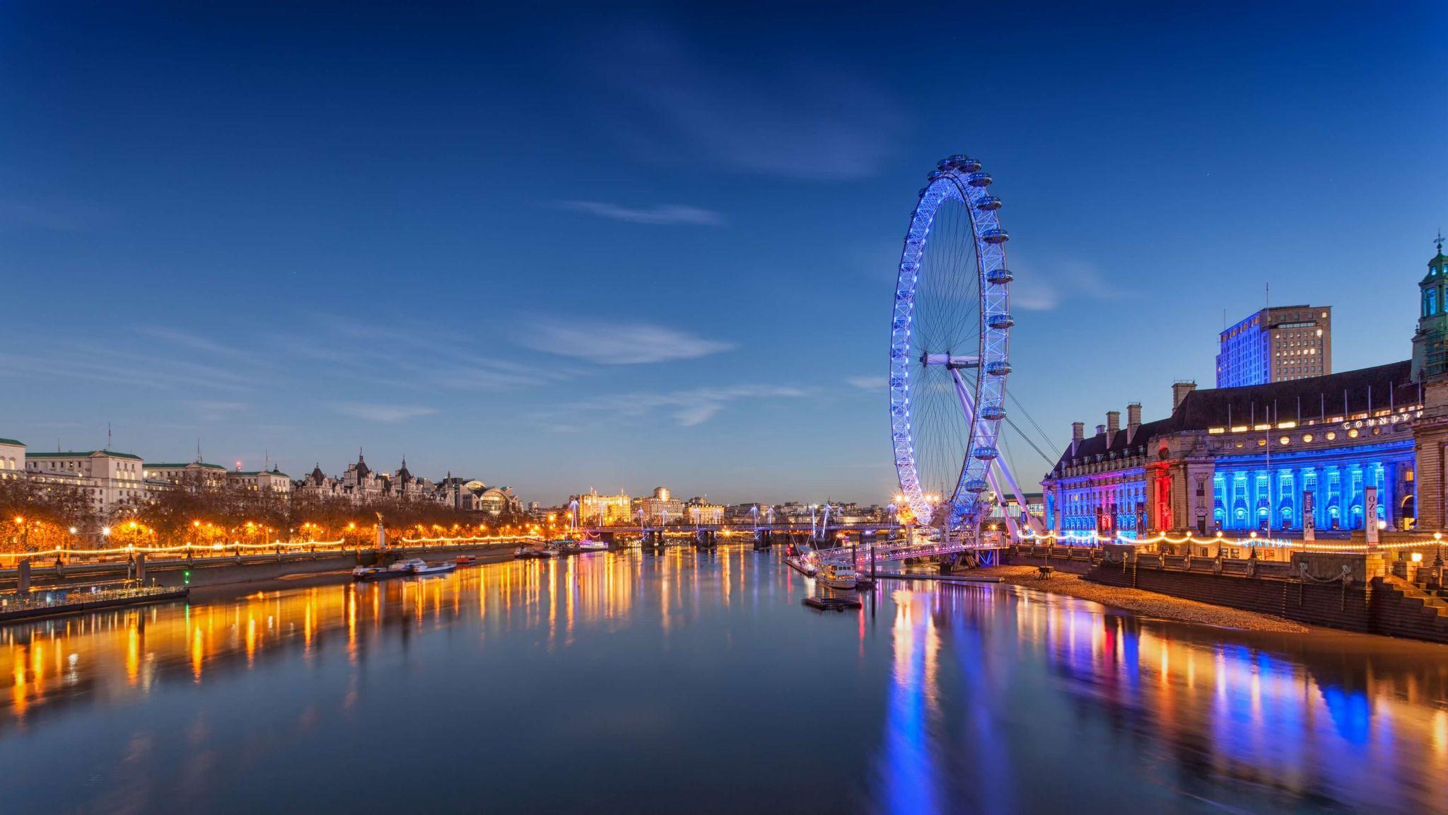 family weekend in London - the London Eye