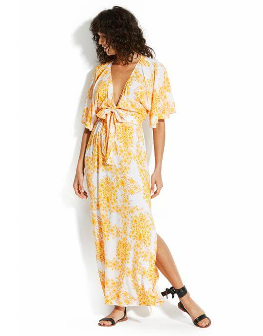 Winter Sun - Seafolly Buttercup Maxi at Simply Beach