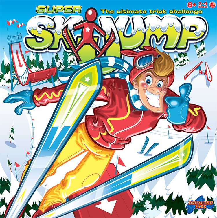 Super Ski Jump Tabletop Game from Drumond Park box
