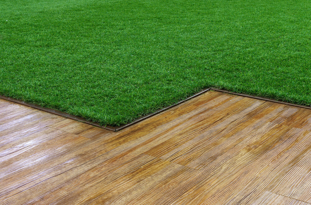 artificial grass used inside the home.